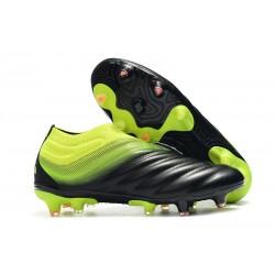 Fotbollsskor för Män adidas Copa 19+ FG - Svart Grön