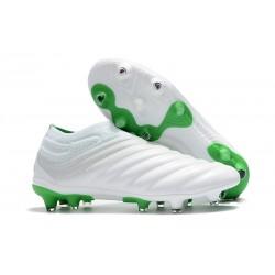 Fotbollsskor för Män adidas Copa 19+ FG - Vit Grön
