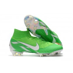 Nike Fotbollsskor Mercurial Superfly VI Elite FG - Grön