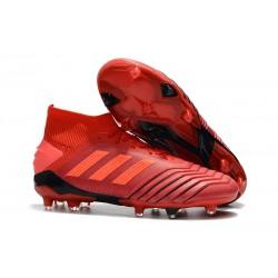 adidas Predator 19.1 FG Fotbollsskor - Röd