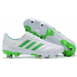 adidas Copa 19.1 FG Fotbollsskor för Män - Vit Grön