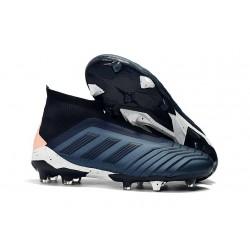 adidas Fotbollsskor för Herrar Predator 18+ FG - Cyan Svart