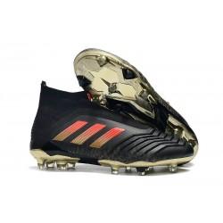 adidas Fotbollsskor för Herrar Predator 18+ FG - Svart Röd