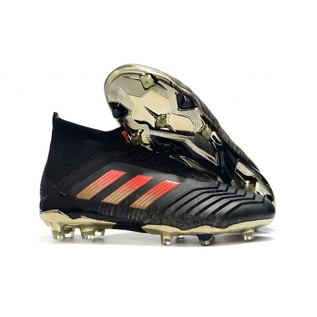 separation shoes 8ca69 38d09 adidas Herr Fotbollsskor Predator 18.1 FG - Svart Röd