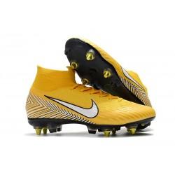 Neymar Nike Mercurial Superfly 360 SG-PRO AC Gul Fotbollsskor