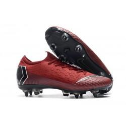Nike Mercurial Vapor XII Elite SG-Pro AC Röd Svart