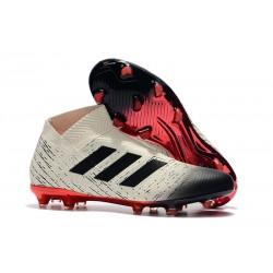 adidas Nya Fotbollsskor för Herrar Nemeziz 18+ FG - Vit Svart Röd