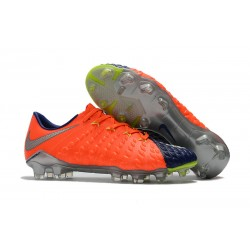 Nike Fotbollsskor HyperVenom Phantom III Elite FG - Orange Blå