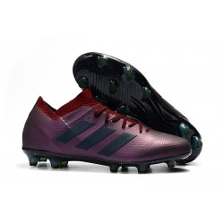 adidas Nemeziz 18.1 FG Fotbollsskor - Lila Svart