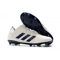 adidas Nemeziz 18.1 FG Fotbollsskor - Vit Svart