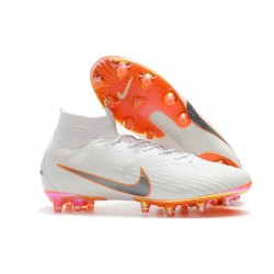 NIKE HERR MERCURIAL SUPERFLY 6 ELITE AG PRO - Vit Orange