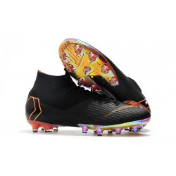 NIKE HERR MERCURIAL SUPERFLY 6 ELITE AG PRO - Svart Orange