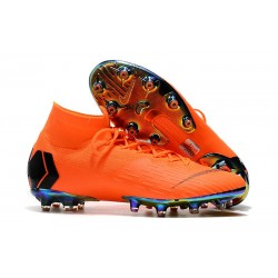 NIKE HERR MERCURIAL SUPERFLY 6 ELITE AG PRO - Orange Svart