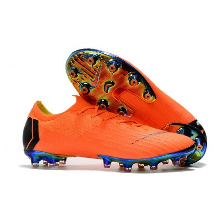 Nike Mercurial Vapor XII Elite AG-ProNike Mercurial Vapor XII Elite AG-Pro Orange Svart