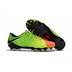 Nike Fotbollsskor HyperVenom Phantom III Elite FG - Grön Orange