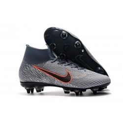Nike Mercurial Superfly 360 SG-PRO AC Fotbollsskor Grå Orange