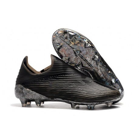 adidas X 19+ FG Fotbollsskor - Dark Script Svart