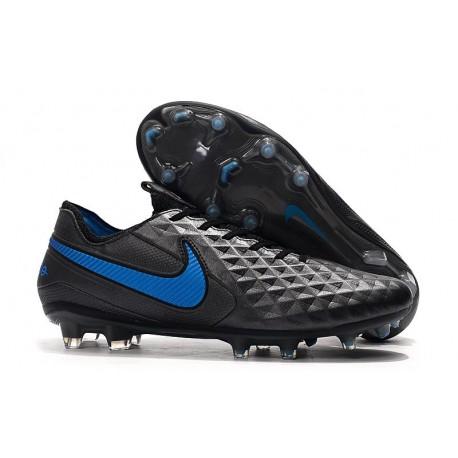 Fotbollskor Nike Tiempo Legend 8 Elite FG - Svart Blå