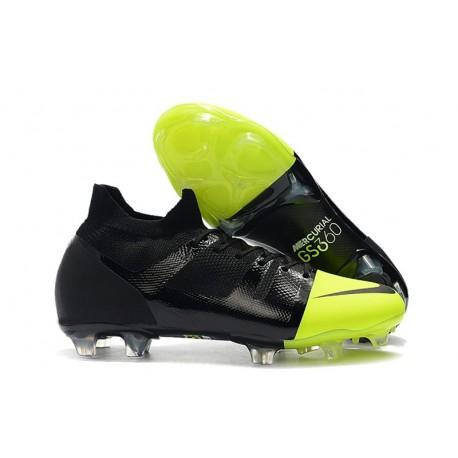 Fotbollsskor Nike Mercurial GS 360 Green Speed Svart Grön