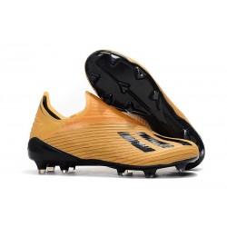 adidas X 19+ FG Fotbollsskor - Orange Svart