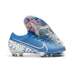 Fotbollsskor för Herrar Nike Mercurial Vapor 13 Elite FG Blå Vit