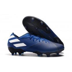 Fotbollsskor för Herrar adidas Nemeziz 19.1 FG Blå Vit