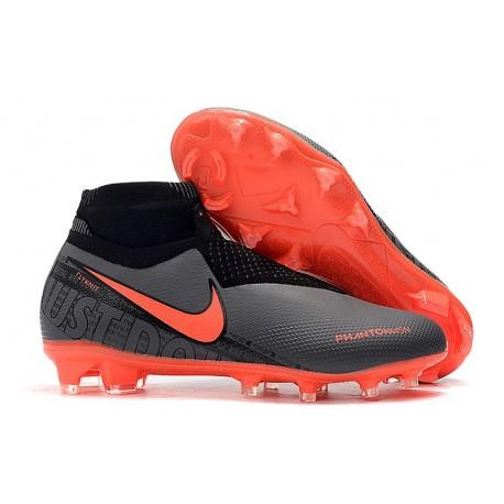 Nike Phantom VSN Elite DF FG Fotbollsskor för Herrar - Svart Röd