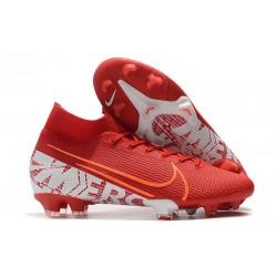 Fotbollsskor Nike Mercurial Superfly 7 Elite FG - Röd Vit