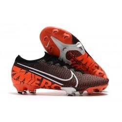 Nike Fotbollsskor Mercurial Vapor XIII 360 Elite FG Svart Vit Röd