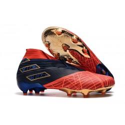 Fotbollsskor för Män adidas Nemeziz 19+ FG Spider-Man Röd Svart