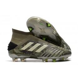 Fotbollsskor för Män adidas Nemeziz 19+ FG Grön