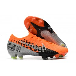 Nike Fotbollsskor Mercurial Vapor XIII 360 Elite FG Orange Grå Svart