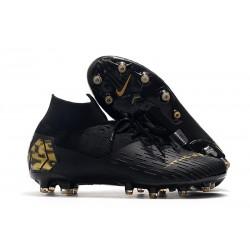 Fotbollsskon Nike Mercurial Superfly 7 Elite AG-PRO Svart Guld