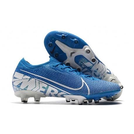 Fotbollsskor Nike Mercurial Vapor 13 Elite AG-Pro Blå Vit