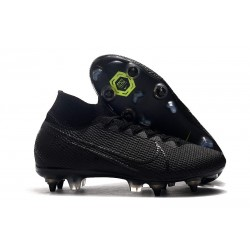 Nike Mercurial Superfly 7 Elite SG-PRO Anti-Clog Svart