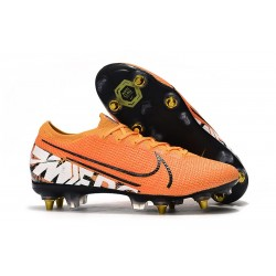Nike Mercurial Vapor 13 Elite SG-PRO Anti-Clog Orange Vit