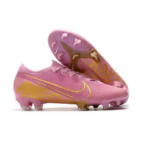 Nike Mercurial Vapor 13 Elite FG ACC Rosa Guld