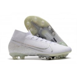Fotbollsskon Nike Mercurial Superfly 7 Elite AG-PRO Vit