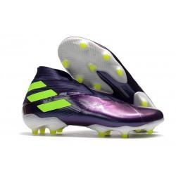 adidas Fotbollsskor Nemeziz 19+ FG Lila Gul