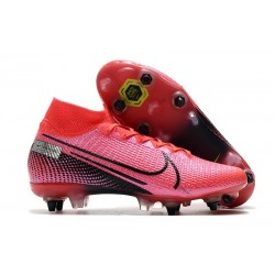 Nike Mercurial Superfly 7 Elite SG-PRO Anti-Clog Future Lab - Rosa Svart