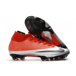 Nike Mercurial Superfly VII Elite SE FG Future DNA Röd Svart