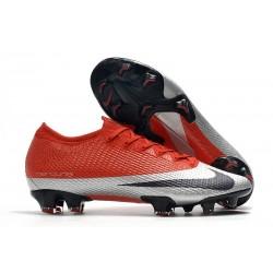 Nike Mercurial Vapor 13 Elite FG ACC Future DNA Röd Silver Svart