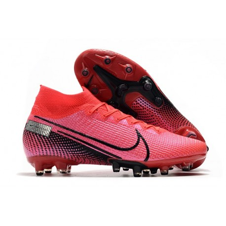 Fotbollsskon Nike Mercurial Superfly 7 Elite AG-PRO Röd Svart
