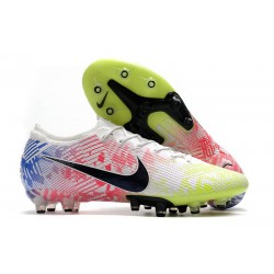 Fotbollsskor Nike Mercurial Vapor 13 Elite AG-Pro Neymar Vit Svart Röd