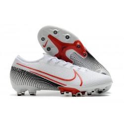 Fotbollsskor Nike Mercurial Vapor 13 Elite AG-Pro Vit Röd