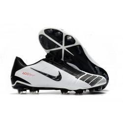 Nike Fotbollsskor för Män Phantom Vnm Elite FG -Vit Svart Röd