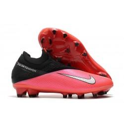 Fotbollsskor Nike Phantom Vision 2 Elite Dynamic Fit FG -Röd Silver Svart