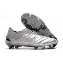 adidas Copa 19.1 FG Fotbollsskor för Män -Grå Silver