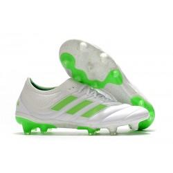 adidas Copa 19.1 FG Fotbollsskor för Män -Vit Grön