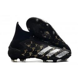 Paul Pogba Adidas Predator 20+ Mutator FG Svart Grå